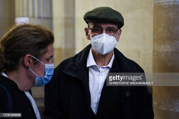 Former leader of Basque separatist group ETA, Josu Ternera, whose real name is Jose Antonio Urrutikoetxea Bengoetxea, walks in a corridor of the...
