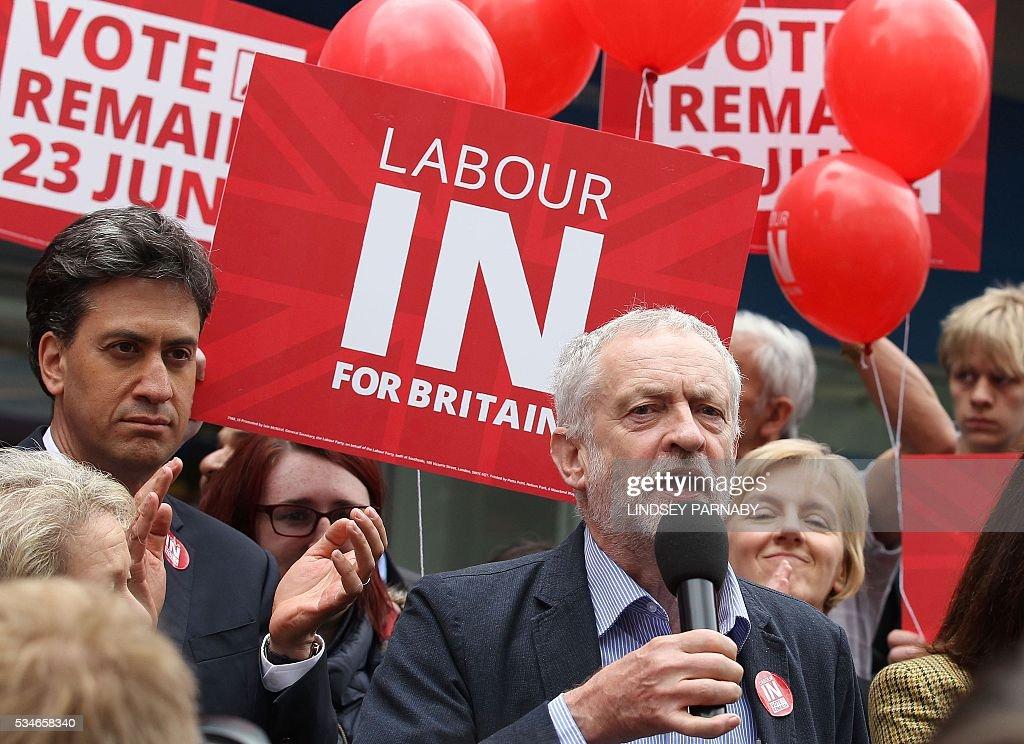 BRITAIN-POLITICS-EU-REFERENDUM : News Photo