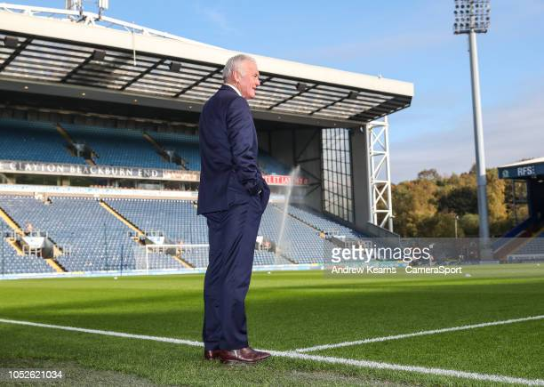 Former Leeds United's player Eddie Gray during the Sky Bet Championship match between Blackburn Rovers and Leeds United at Ewood Park on October 20...