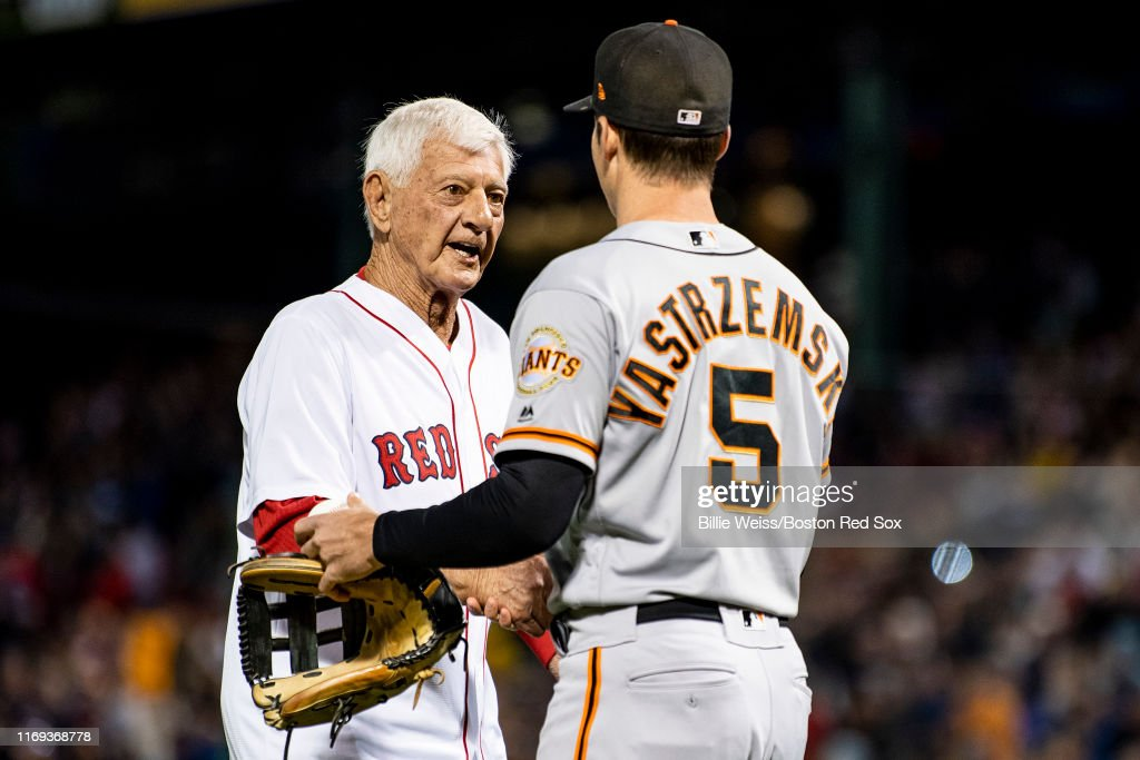 San Francisco Giants v Boston Red Sox : News Photo