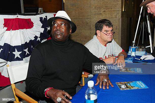 Former left fielder Major League Baseball Gary Matthews attends the Amtrak National Train Day Celebration 2010 Philadelphia at 30th Street Station on...