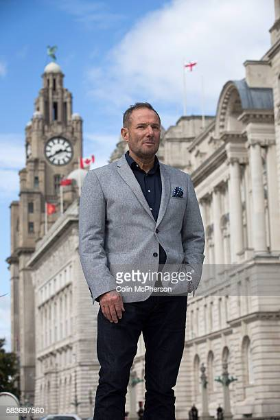 Former leftwing British politician Derek Hatton pictured in his home city of Liverpool with the iconic Liver Building in the background Hatton is a...