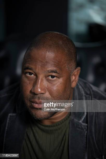 Former Liverpool and England international footballer John Barnes pictured during an interview in Liverpool Jamaicaborn Barnes started his...