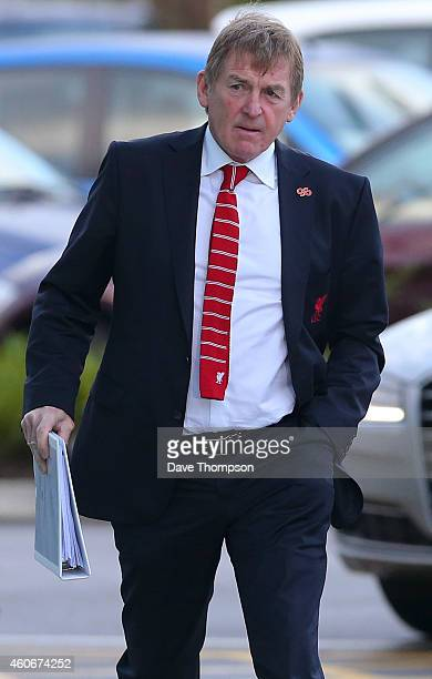 Former Liverpool FC Manager Kenny Dalglish arrives to give evidence at the Hillsborough Inquest at the specially adapted office building in Birchwood...