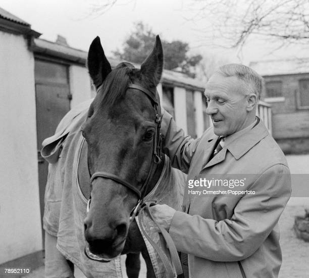Liverpool Football Club manager Bill Shankly with famous racehorse Red Rum
