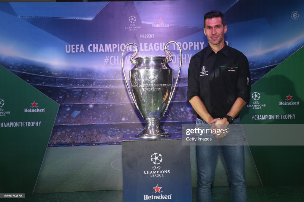 UEFA Champions League Trophy Tour presented by Heineken - Mumbai : News Photo