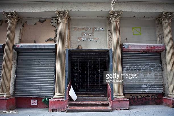 Former location of Burlington Coat Factory retail store at 45 Park Place in Lower Manhattan is the site of a proposed Islamic center and Mosque in...