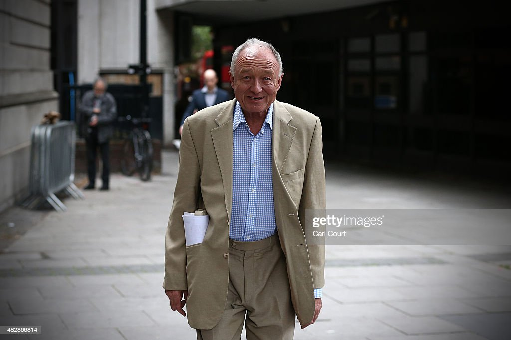 Jeremy Corbyn And Ken Livingstone Attend A Labour Leadership Rally : News Photo