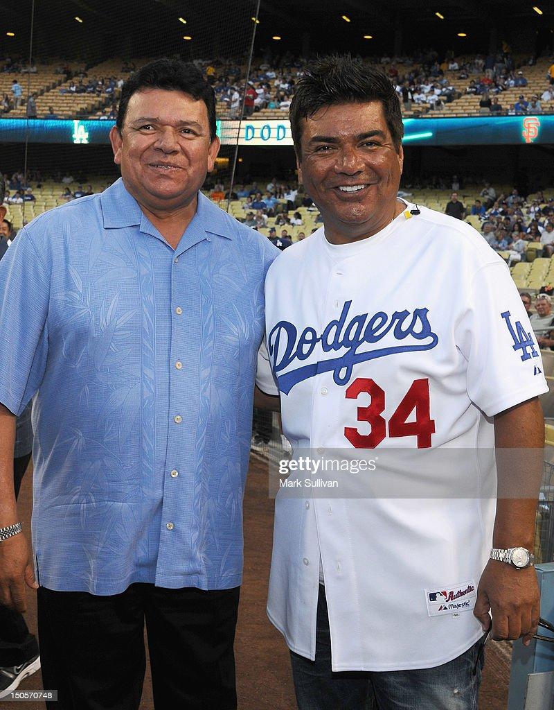 Fernando Valenzuela Bobblehead Night At Dodger Game
