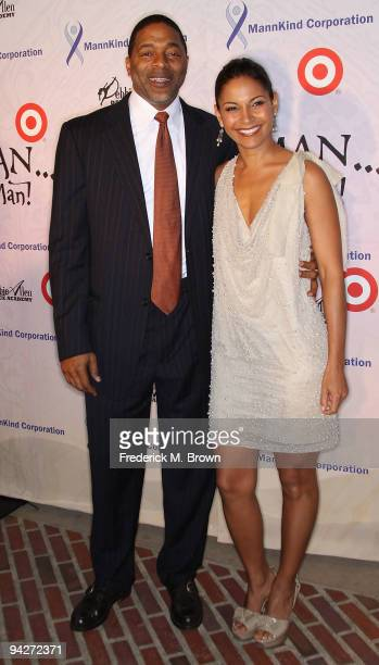 Former Los Angeles Laker Norm Nixon and actress Salli Richardson Whitfield attend the Debbie Allen Dance Academy's annual fundraiser at UCLA's Royce...