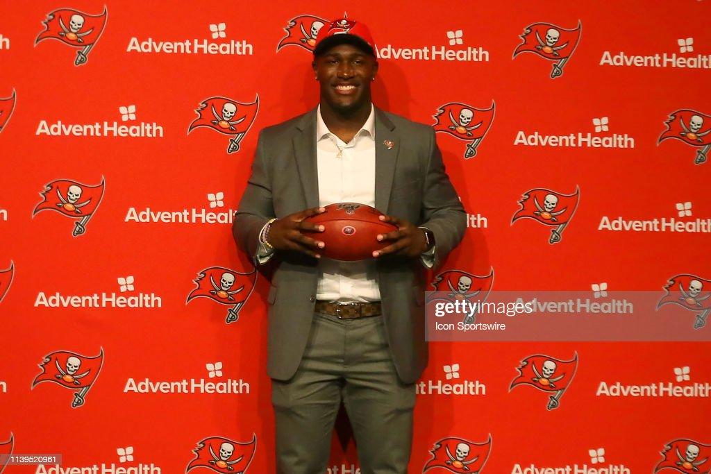 NFL: APR 26 Devin White Press Conference : News Photo
