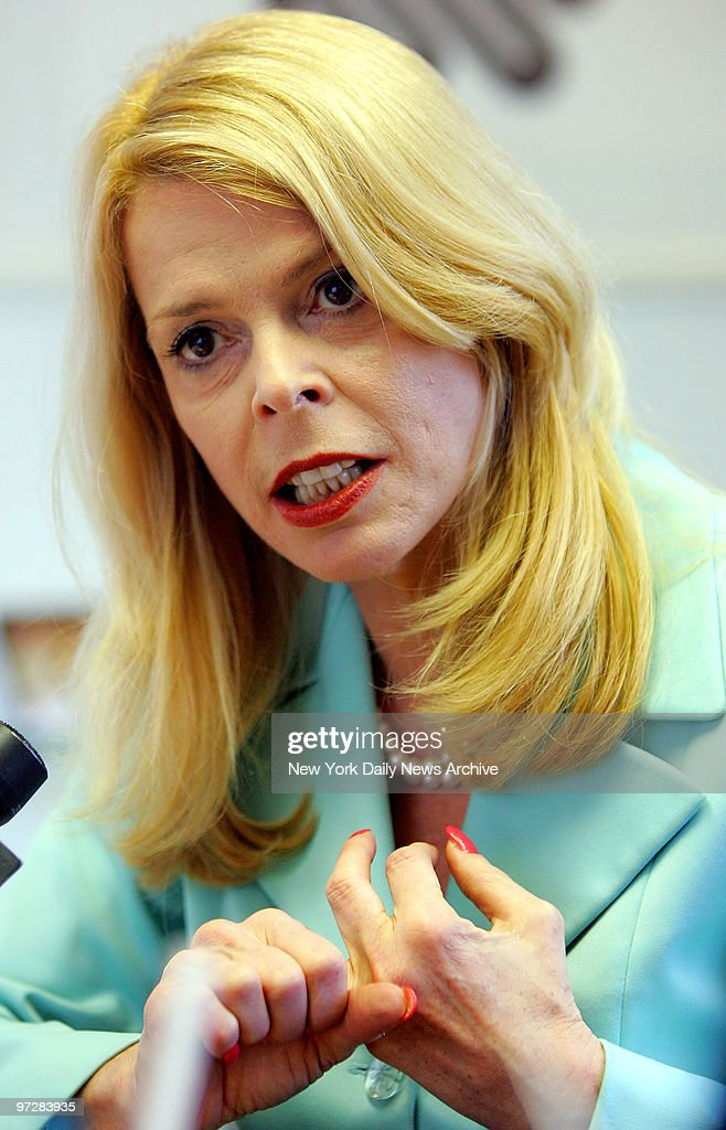 Former Lt. Governor Betsy McCaughey, Ph.D., Chairman of the  : News Photo