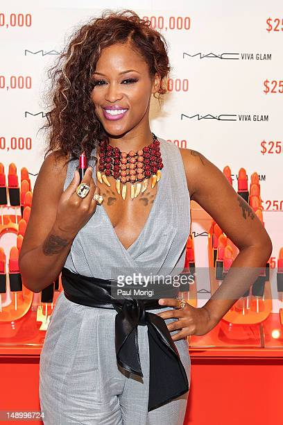 Former MAC VIVA GLAM Spokesperson Eve Celebrates The MAC AIDS Fund's $250 Million Milestone During The International AIDS Conference on July 21 2012...