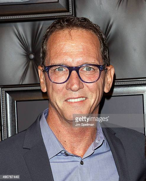 Former major league baseball pitcher David Cone attends the JCPenney x Michael Strahan launch party at JCPenney on September 30 2015 in New York City