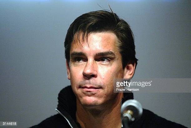 Former major league baseball player Billy Bean appears at the Timeline for Variety's Gay Hollywood Panel held at the Silver Screen Theater in the...