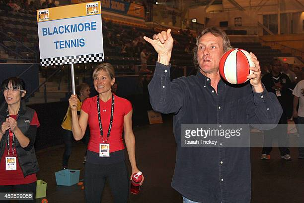 Former Major League Baseball player Kelly Gruber competes in The 2nd Annual Raonic Race For Kids Fundraiser Benefitting The Milos Raonic Foundation...