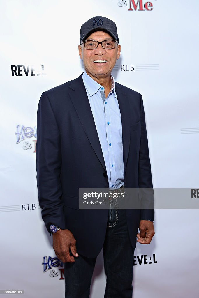 Former Major League Baseball player Reggie Jackson attends the 'Henry & Me' red carpet special charity screening on September 24, 2014 in Greenwich, Connecticut.