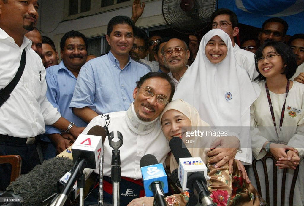 malaysia s anwar ibrahim set free photos and images getty images