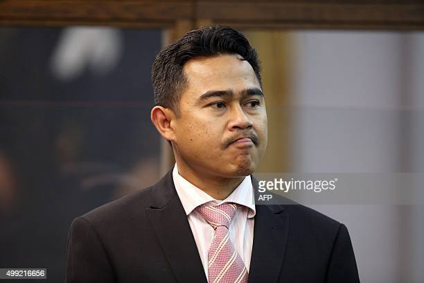 Former Malaysian diplomat Mohammed Rizalman bin Ismail stands in the dock as he pleads guilty in Wellington on November 30 to the indecent assault of...