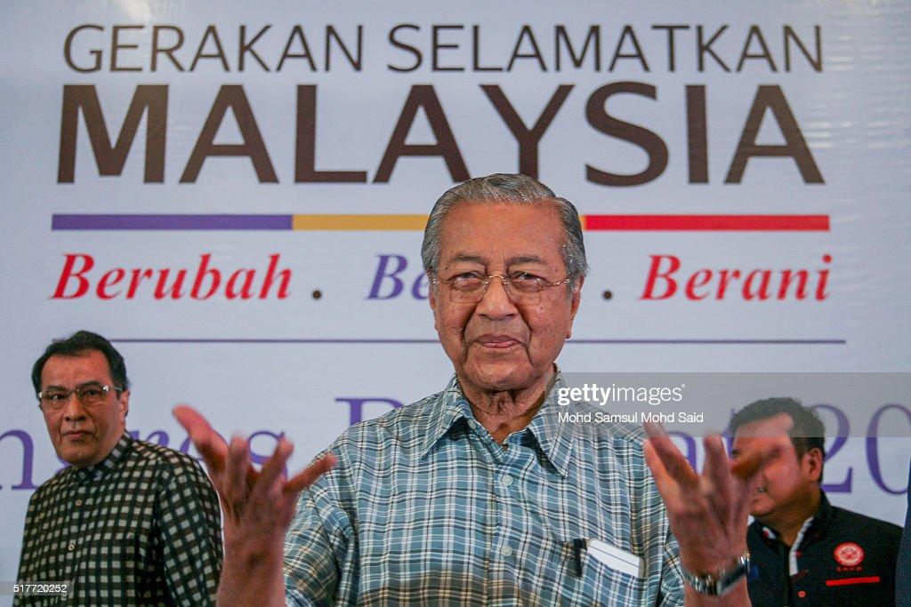 Mahathir Mohamad Against Prime Minister Najib Razak