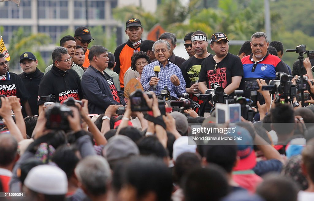 Malaysians Rally Against Prime Minister Najib Razak and GST