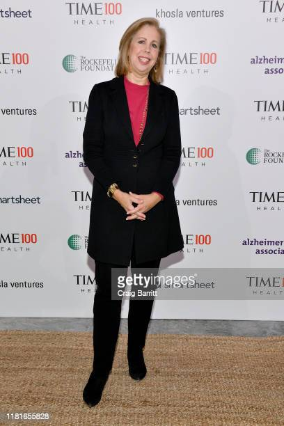 Former Managing Editor for TIME magazine, Nancy Gibbs, arrives at the TIME 100 Health Summit at Pier 17 on October 17, 2019 in New York City.