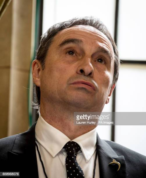 Former Manchester City coach Peter Lowe during the Players Trust Launch Reception at the Houses of Parliament in London PRESS ASSOCIATION Photo...