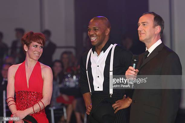 Former Manchester United player Quinton Fortune performs a ballroom dancing routine as part of Dancing with United in aid of the Manchester United...