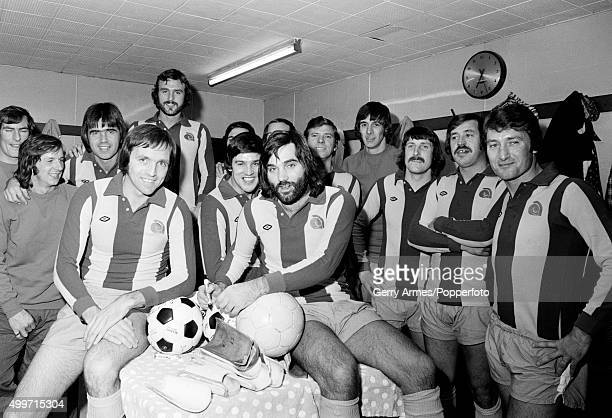 Former Manchester United winger George Best joins the West Bromwich Albion team for one night only to play as guest in the Jeff Astle Testimonial...