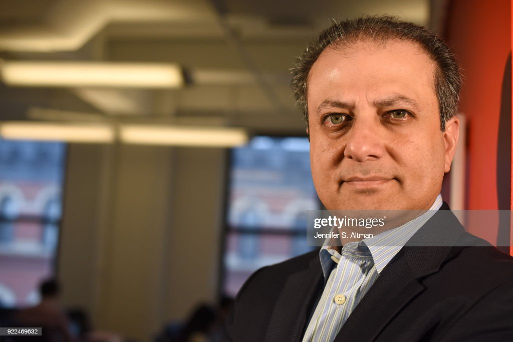 Former Manhattan U.S. Attorney Preet Bharara is photographed for USA Today on September 13, 2017 in New York City. PUBLISHED