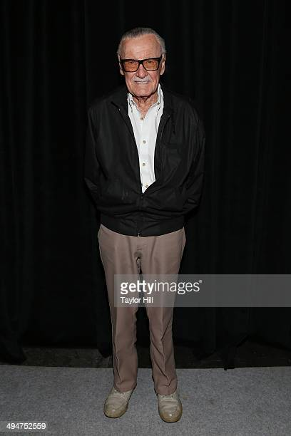 Former Marvel Comics President Stan Lee attends day 2 of the 2014 Bookexpo America at The Jacob K Javits Convention Center on May 30 2014 in New York...