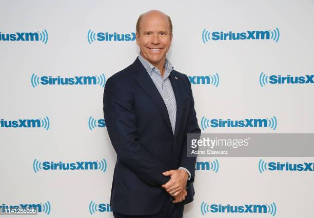Former Maryland Congressman and 2020 presidential candidate John Delaney visits the SiriusXM Studios on April 08 2019 in New York City