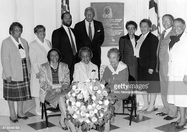 Former Maryland State legislator Lena K Lee Ida Swanson Kathryn Frisby Tony Fulton Aris T Allen Margaret Ross Louise Mapp Roland McConnell Mildred...