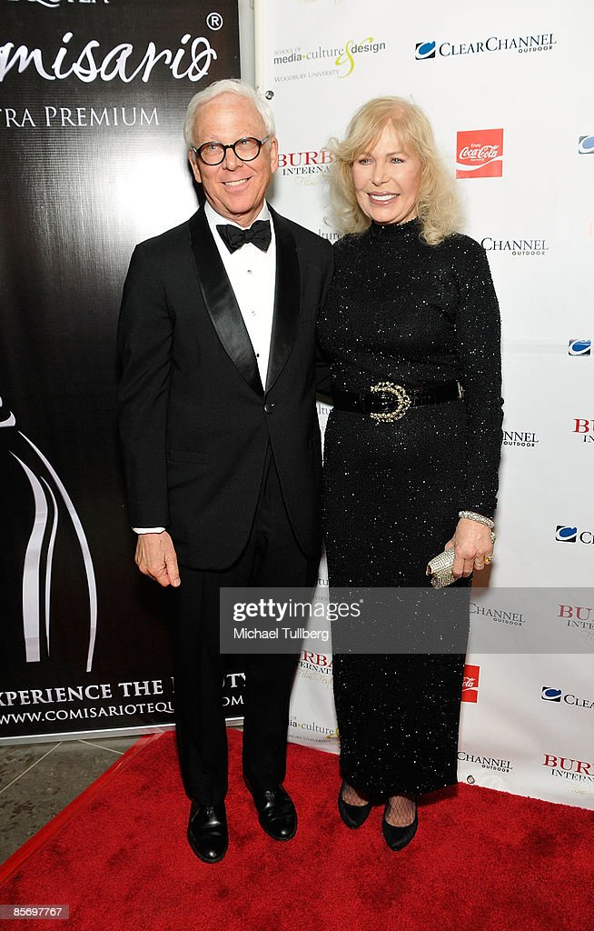Former 'M*A*S*H*' castmates William Christopher and Loretta Swit arrive at the Closing Night Gala for the 1st Annual Burbank International Film Festival, held at Woodbury University on March 29, 2009 in Burbank, California.