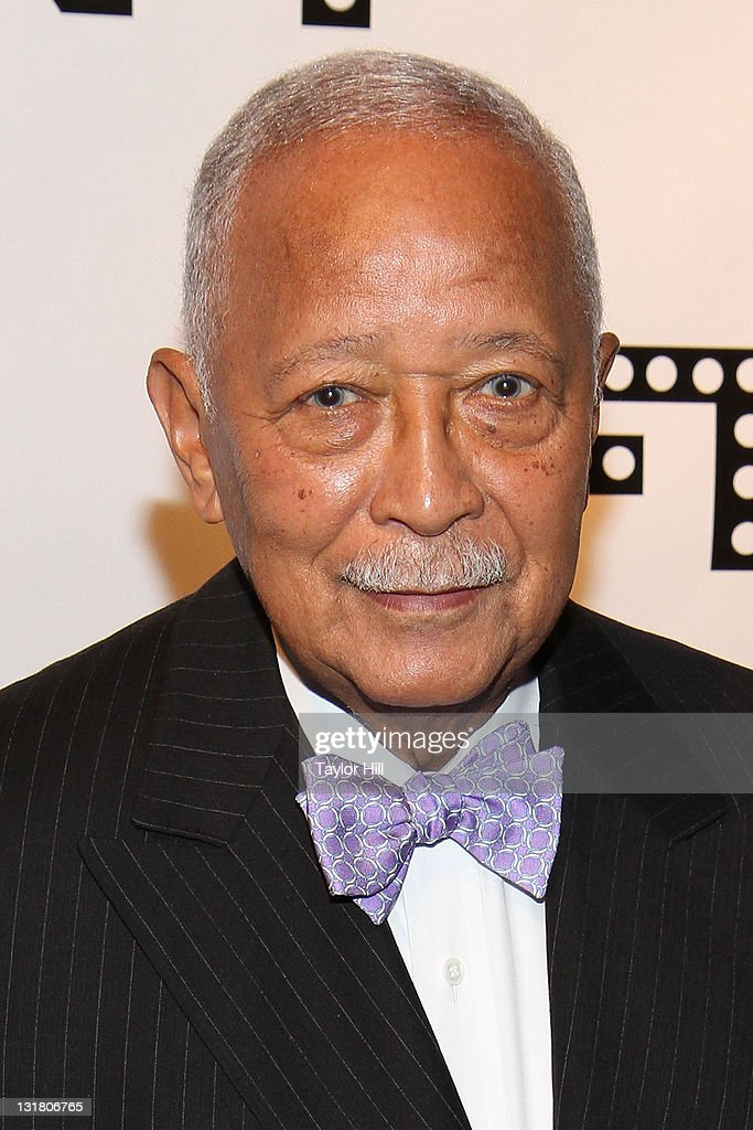 former mayor david dinkins attends the woodie king jr new federal news photo getty images 2
