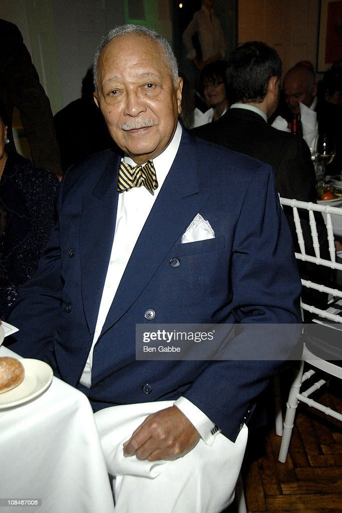 Former Mayor David N. Dinkins attends the Gold Medal of Honor for Lifetime Achievement in Music at The National Arts Club on January 27, 2011 in New York City.