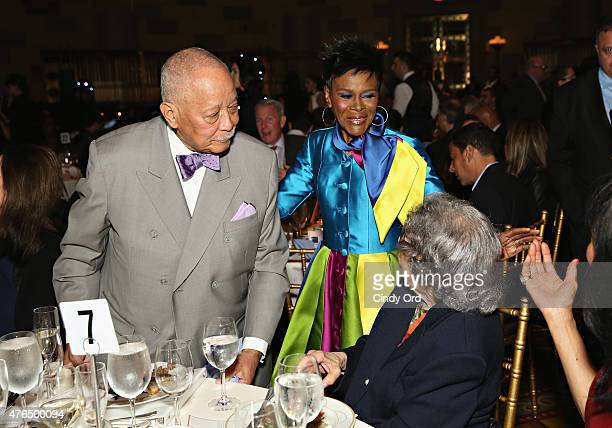 Former Mayor of New York City David Dinkins and actress Cicely Tyson attend the I Have A Dream Foundation Spirit of the Dream Gala at Gotham...