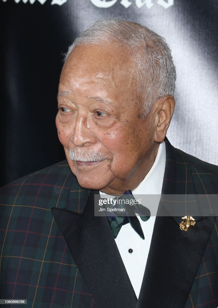 former mayor of new york city david dinkins attends the friar s club