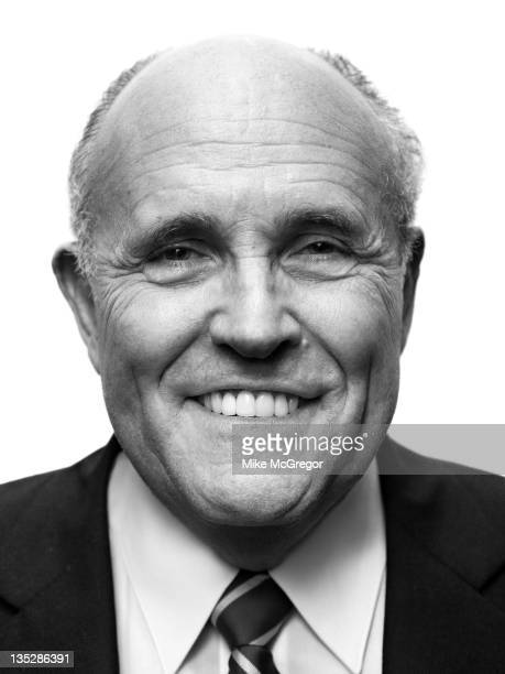 Former Mayor of New York City Rudolph Giuliani is photographed for Self Assignment on September 11 2011 in New York City