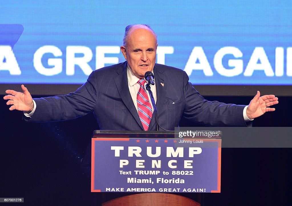 Donald Trump for President Rally : News Photo
