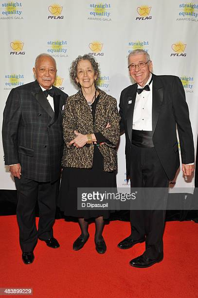Former Mayor of New York David Dinkins President of American Jewish World Service Ruth Messinger and PFLAG National President Rabbi David M Horowitz...