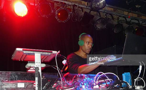 Former member of 'A Tribe Called Quest' Ali Shaheed Muhammad performs a live DJ set to celebrate Canada Day at Tattoo on June 30, 2014 in Toronto,...