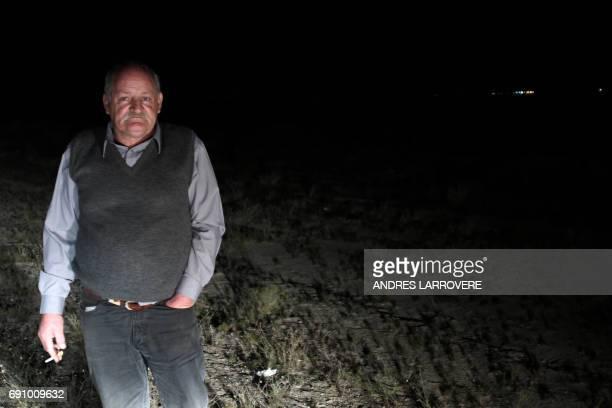 Former member of the Argentine Army during the military dictatorship in Argentina Jesus Villegas poses in Mendoza Argentina on May 31 2017 Villegas...