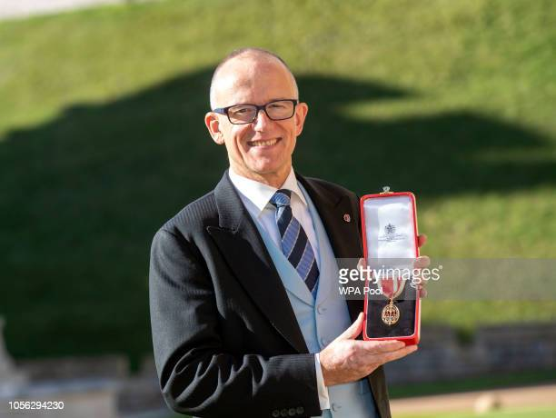 Former Metropolitan Police Assistant Commissioner for Specialist Operations and national lead for counterterrorism Sir Mark Rowley with his...