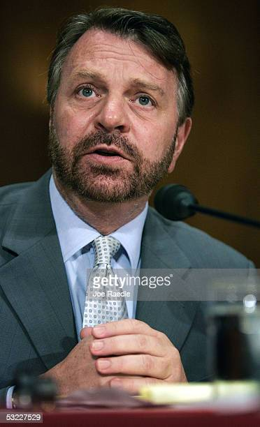 """Former Mexican Foreign Minister, Jorge Castaneda, testifies during the Senate Foreign Relations Committee hearing on """"North American Cooperation on..."""