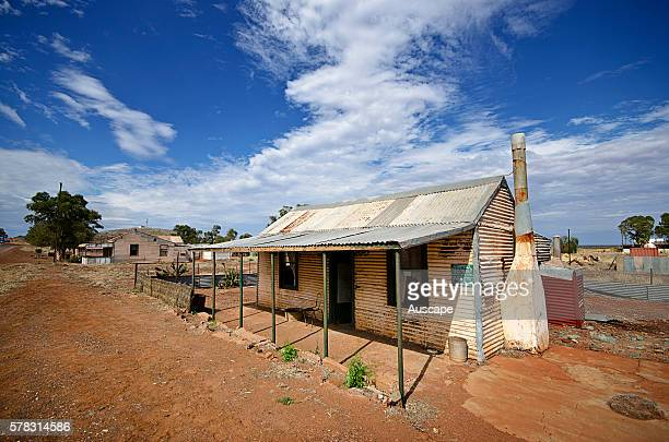 A former miner's cottage in a ghost town Gwalia was a goldmining town Underground mining began in 1897 at the Sons of Gwalia mine that became the...