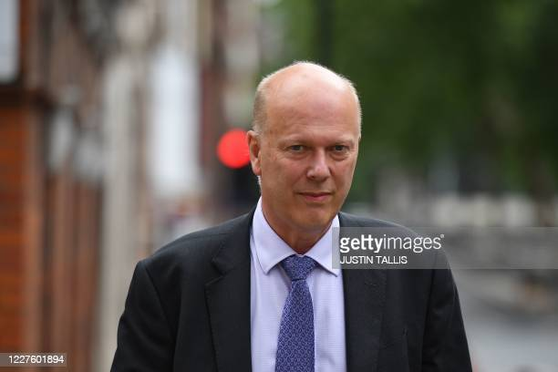 Former minister Conservative MP Chris Grayling , a member of the British parliament's intelligence and security committee , leaves the committees...