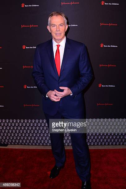 Former Minister of the United Kingdom and Honoree Tony Blair attends the 2nd Annual Save The Children Illumination Gala at the Plaza on November 19...