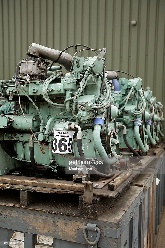 Ex Ministry Of Defence Vehicles On Sale Photos and Images | Getty ...