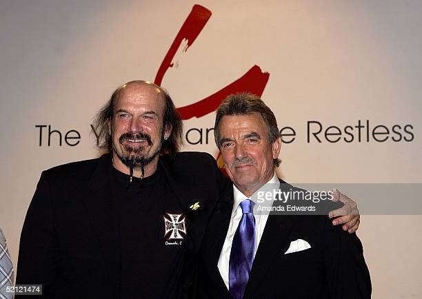 Former Minnesota Governor Jesse Ventura and Eric Braeden celebrate Braeden's 25th anniversary playing legendary character Victor Newman on The Young...